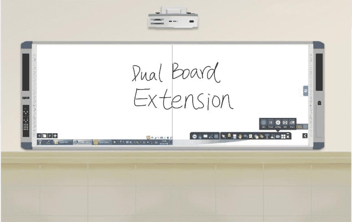 กระดานอัจฉริยะ 150 นิ้ว extension