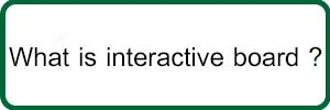 what is interactive board