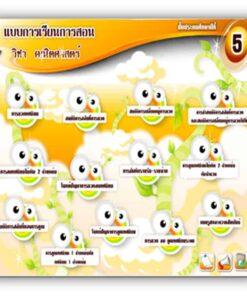 ซอฟต์แวร์ CAI คณิตศาสตร์ ป5-1