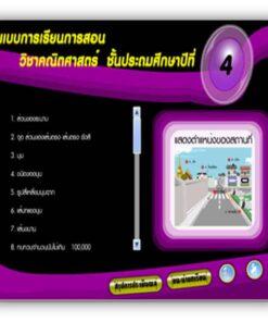 ซอฟต์แวร์ CAI คณิตศาสตร์ ป4-2