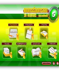 ซอฟต์แวร์ CAI คณิตศาสตร์ ป5-6