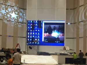 LED full color display P3.9 indoor