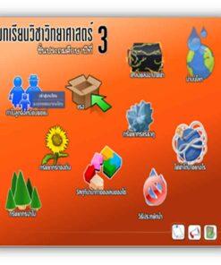 ซอฟต์แวร์ CAI วิทยาศาสตร์ ป3-4