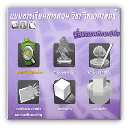 ซอฟต์แวร์ CAI วิทยาศาสตร์ ป5-3