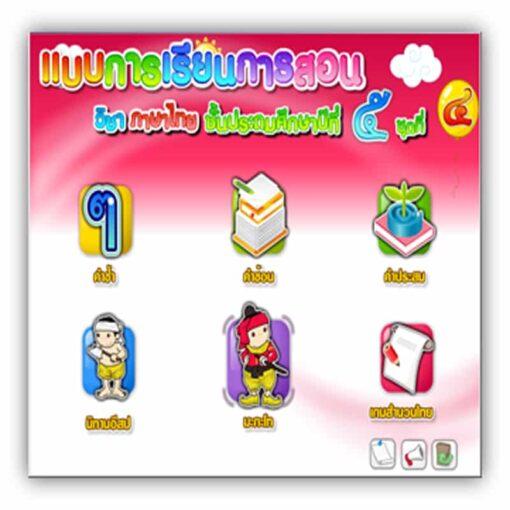 ซอฟต์แวร์ CAI ภาษาไทย ป5-4
