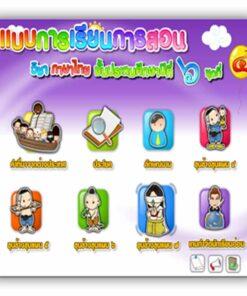 ซอฟต์แวร์ CAI ภาษาไทย ป6-4