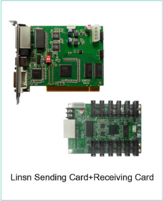 sending card and receiving card of LED full color display