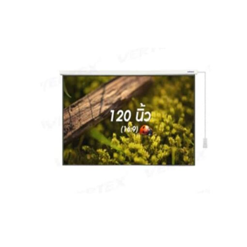 Vertex motorize 120 นิ้ว 16:9