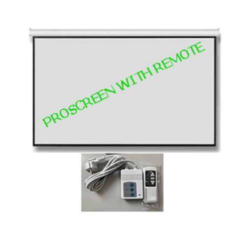 จอมอเตอร์ไฟฟ้า 120 นิ้ว Proscreen 4:3
