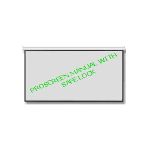 จอแขวนมือดึง 100 นิ้ว 16:10 Proscreen wall screen