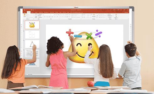 กระดานอัจฉริยะ IQ board สำหรับโรงเรียน