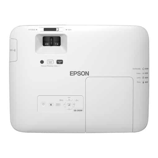 Epson EB 2165W top