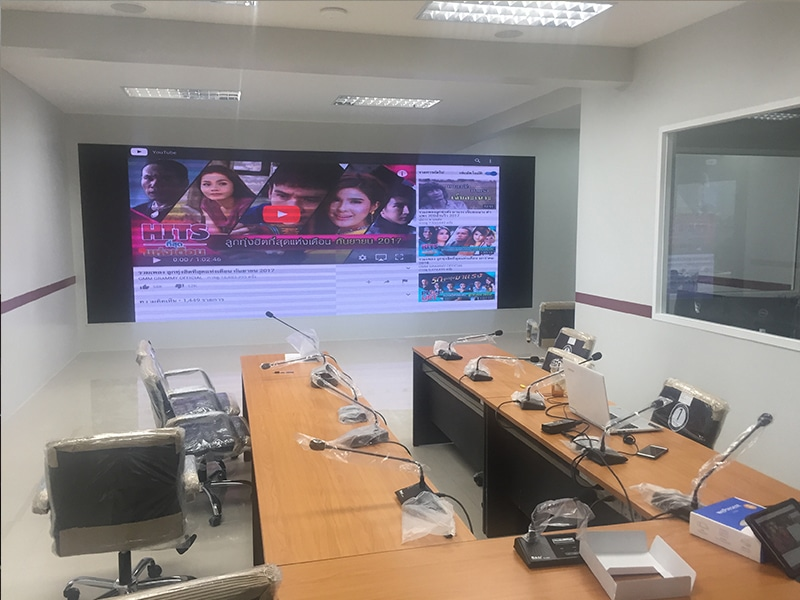LED display full color P2 installation3