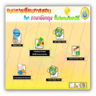 ซอฟต์แวร์สื่อการเรียนการสอน วิชา ภาษาอังกฤษ