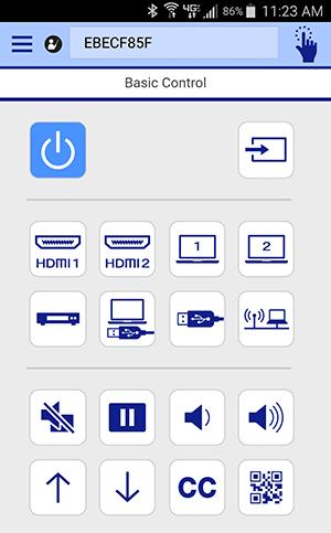 app iprojection โปรเจคเตอร์ epson