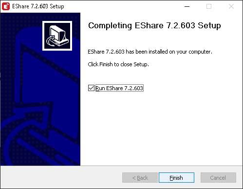 ติดตั้งโปรแกรม eshare 2