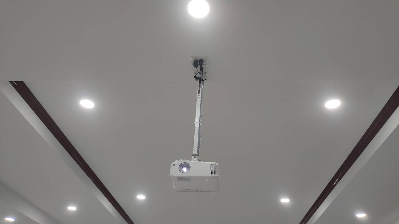 projector install
